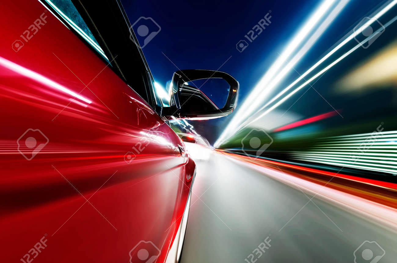 abstract acceleration motion Stock Photo - 24264805