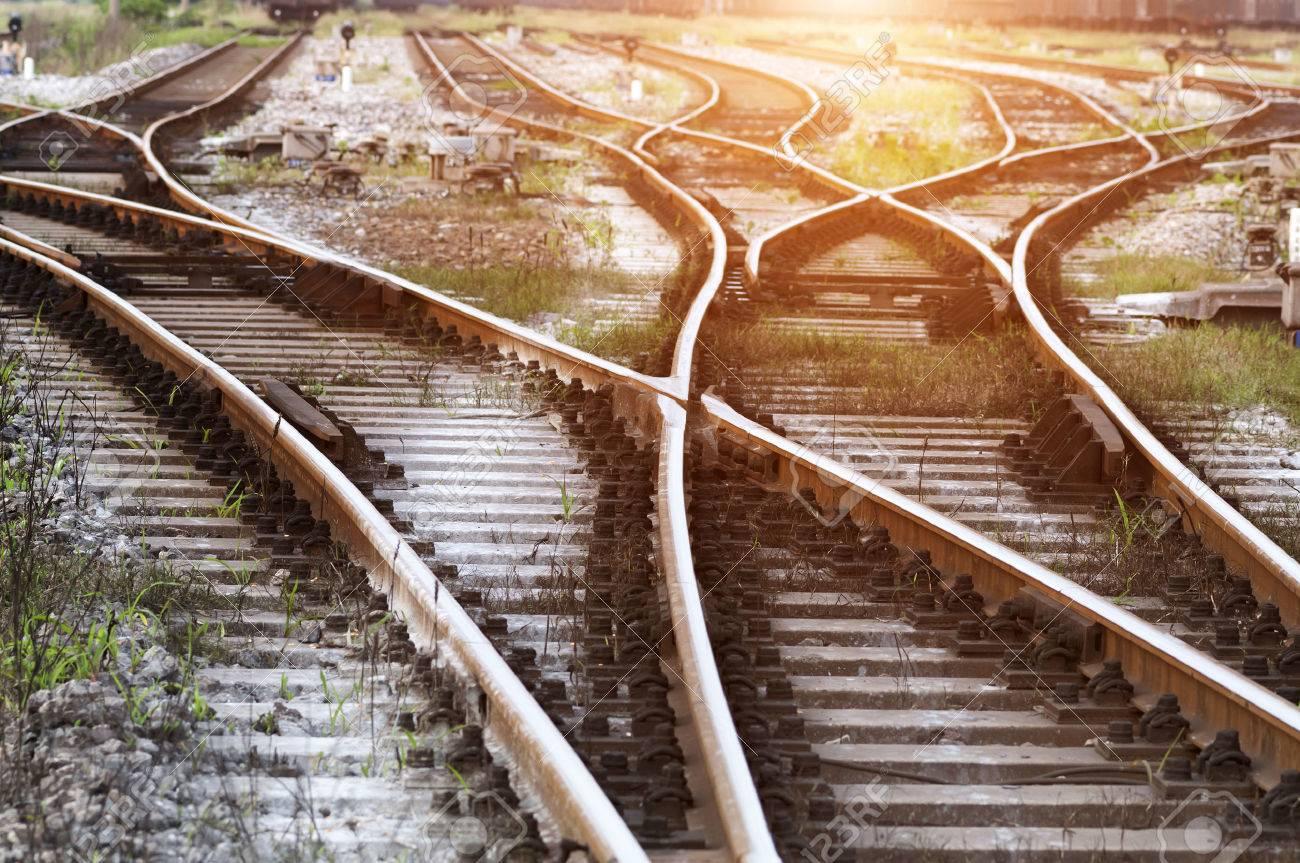 railway tracks - 35811922
