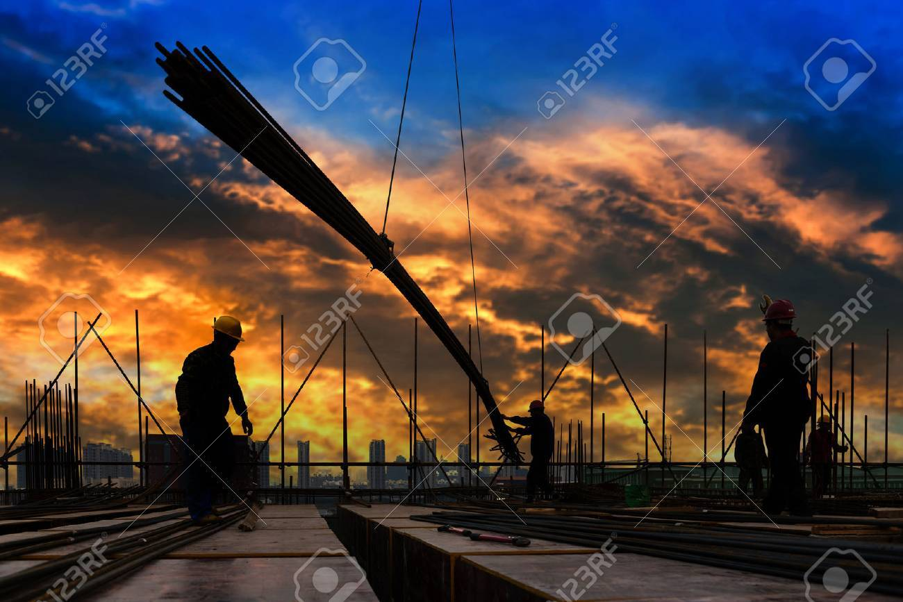 construction worker on construction site - 44776031