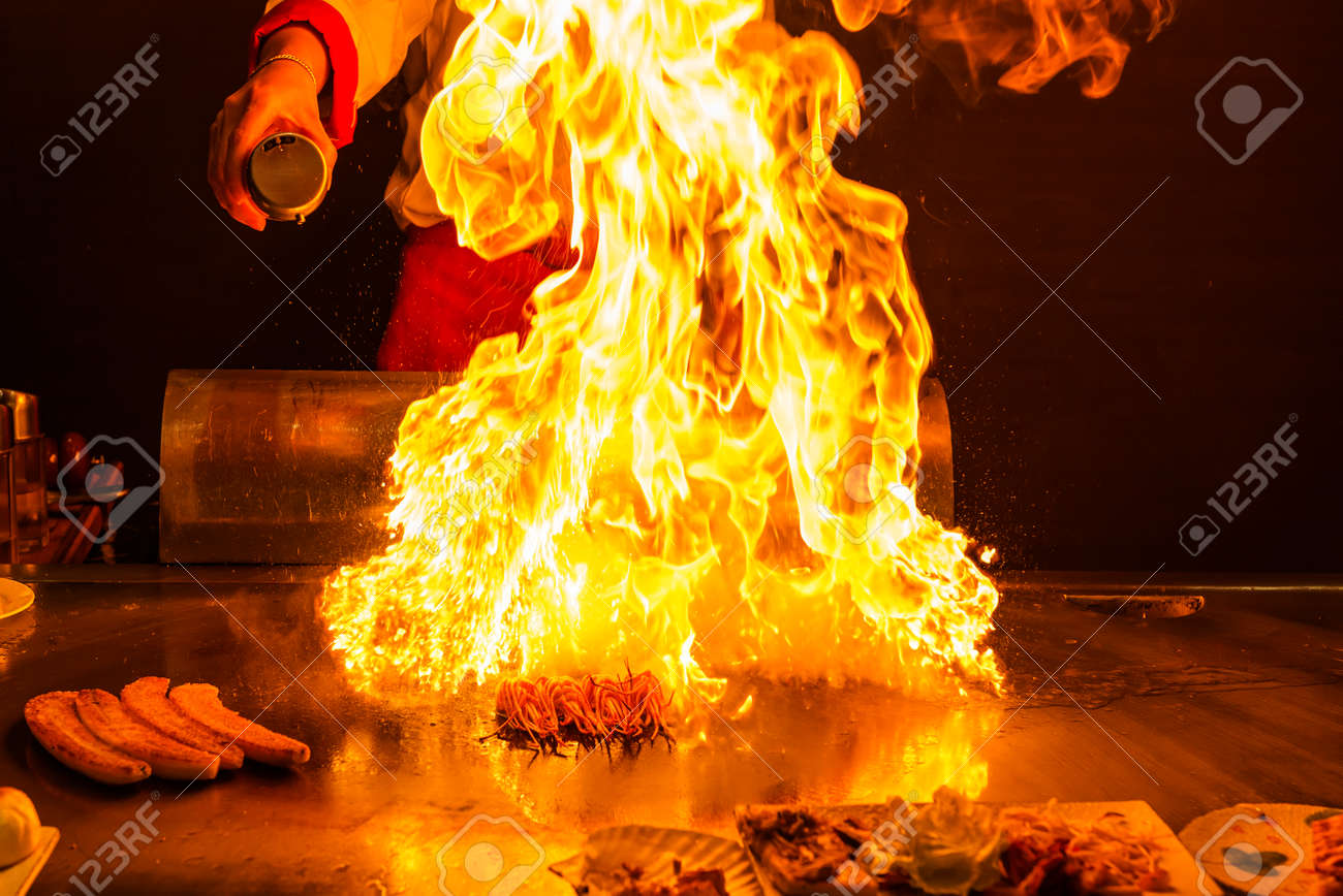 roasting teppanyaki - 45024924