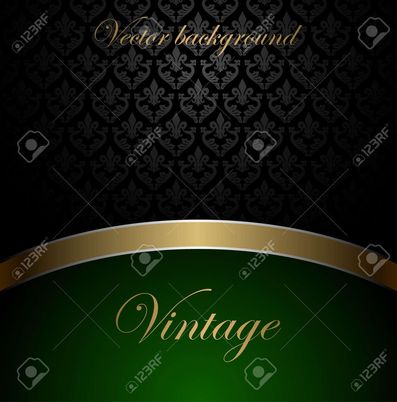 Vintage vector background Stock Vector - 11030597
