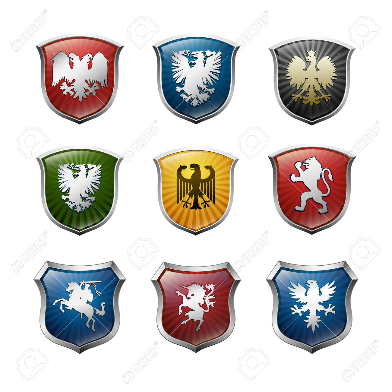 Family arms vector Stock Vector - 11386294