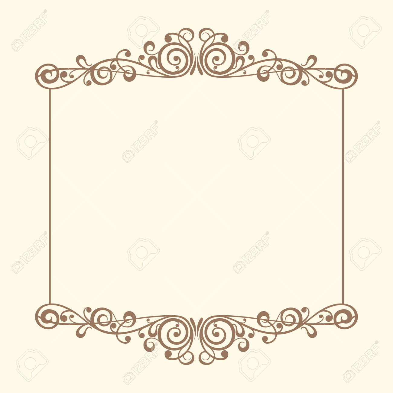 Vintage Frames Vector Royalty Free Cliparts, Vectors, And Stock ...