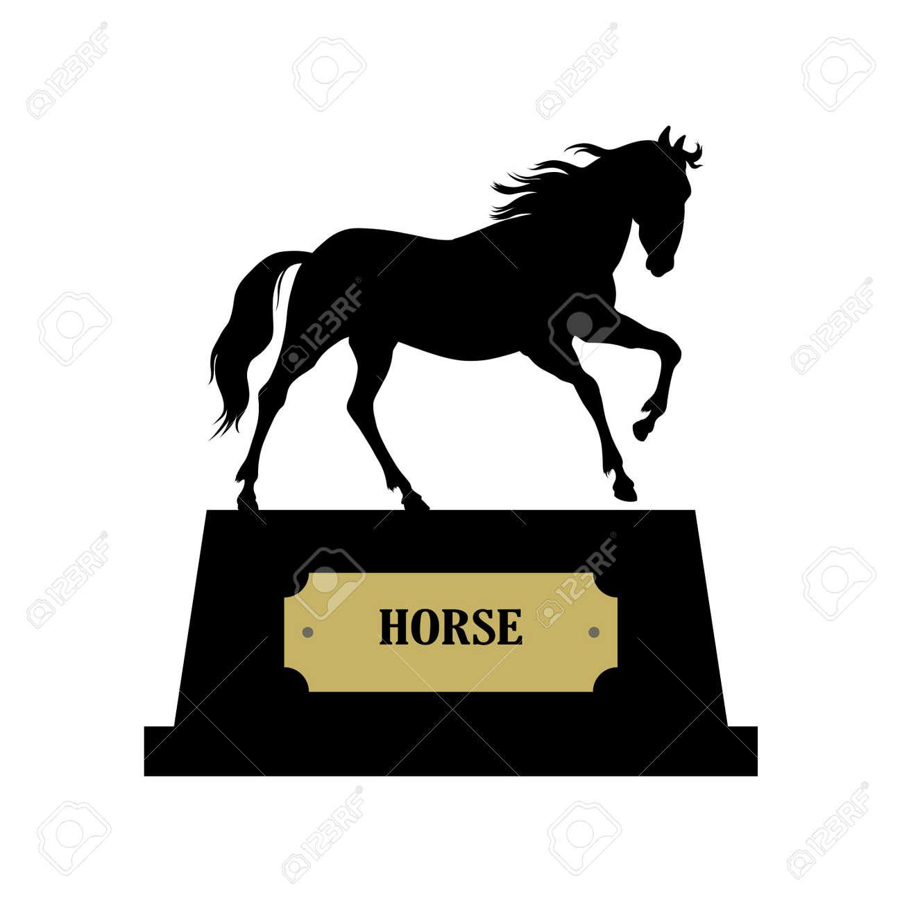 Horse symbol vector Stock Vector - 14988314
