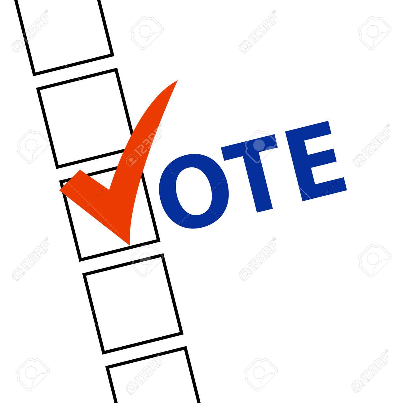 Voting Symbols vector Stock Vector - 15062961