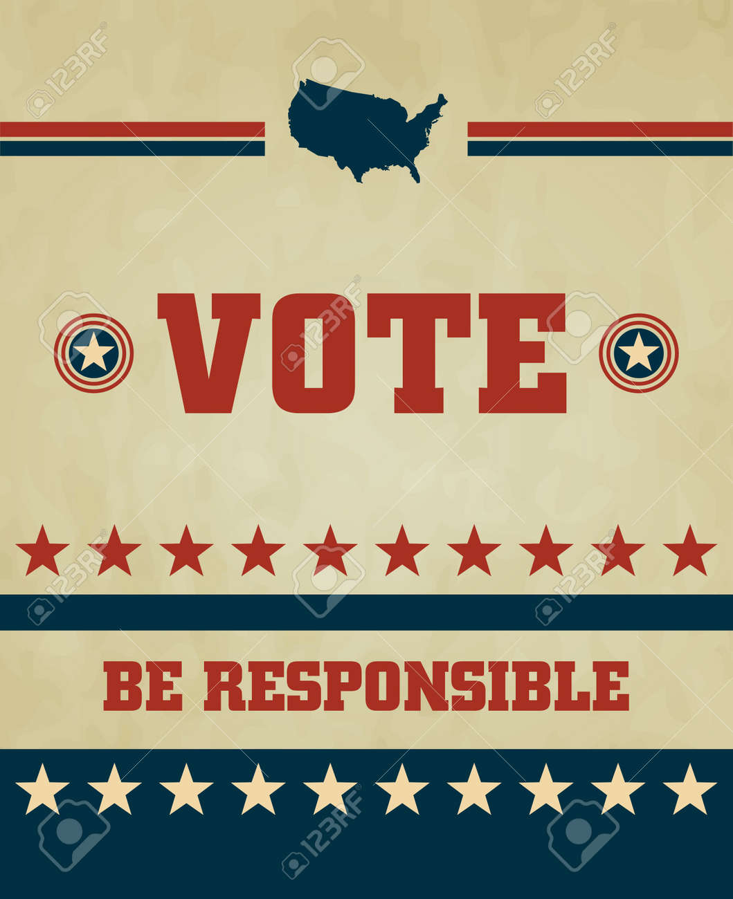Voting Symbols design Stock Vector - 15157174