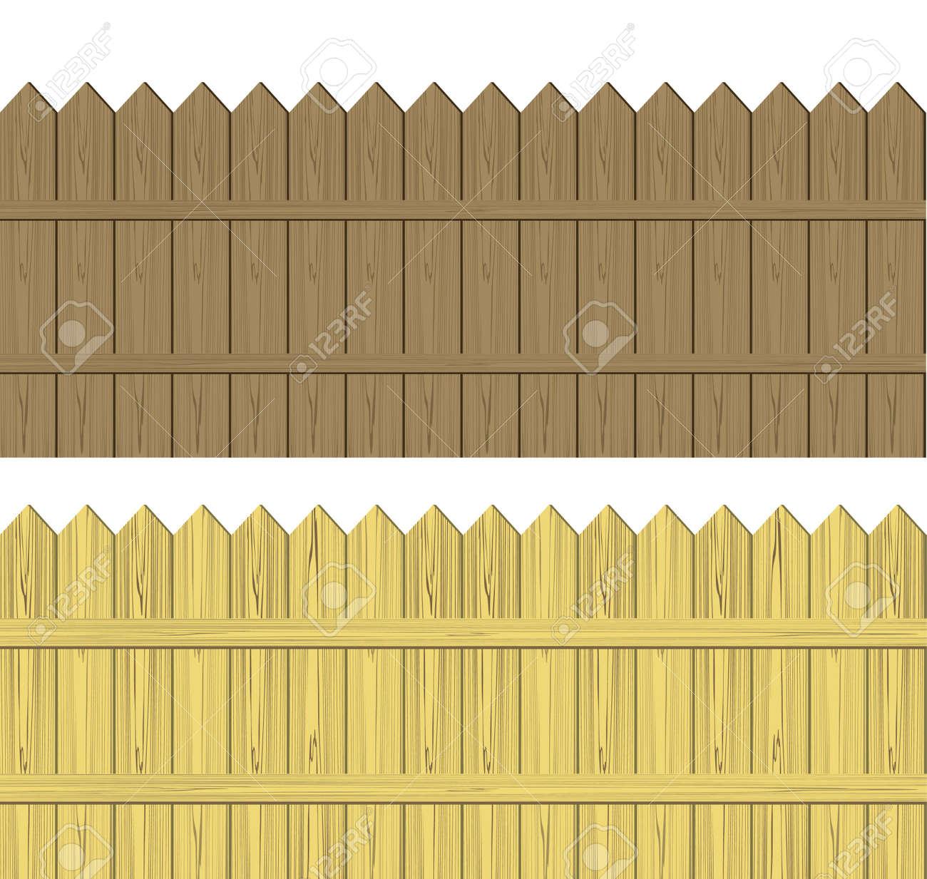 Picket Fence Vector