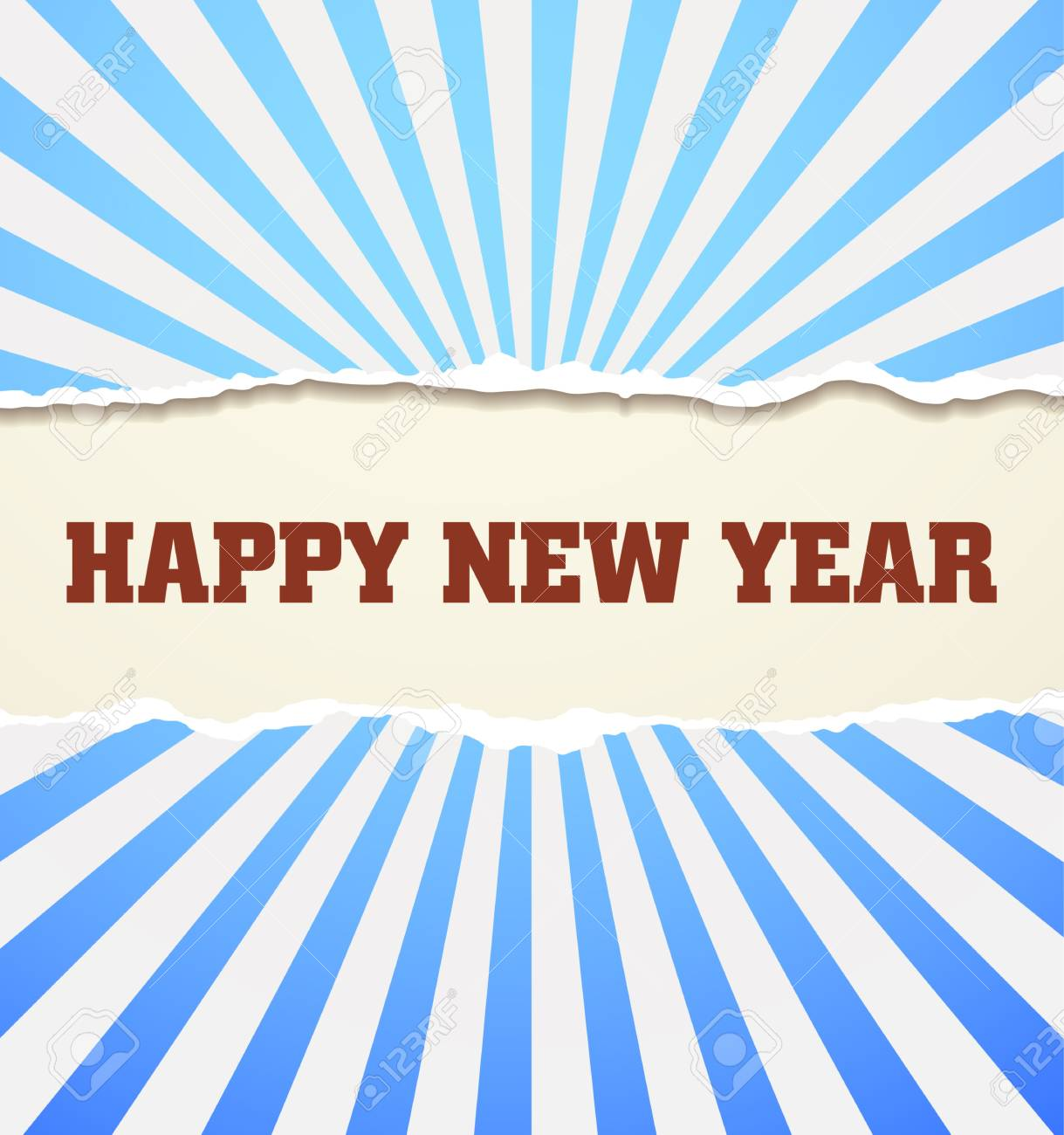 Happy New Year design card  images Stock Vector - 16549074