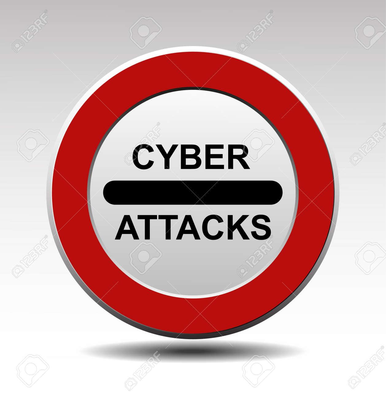 Cyber attacks vector sign Stock Vector - 17443684
