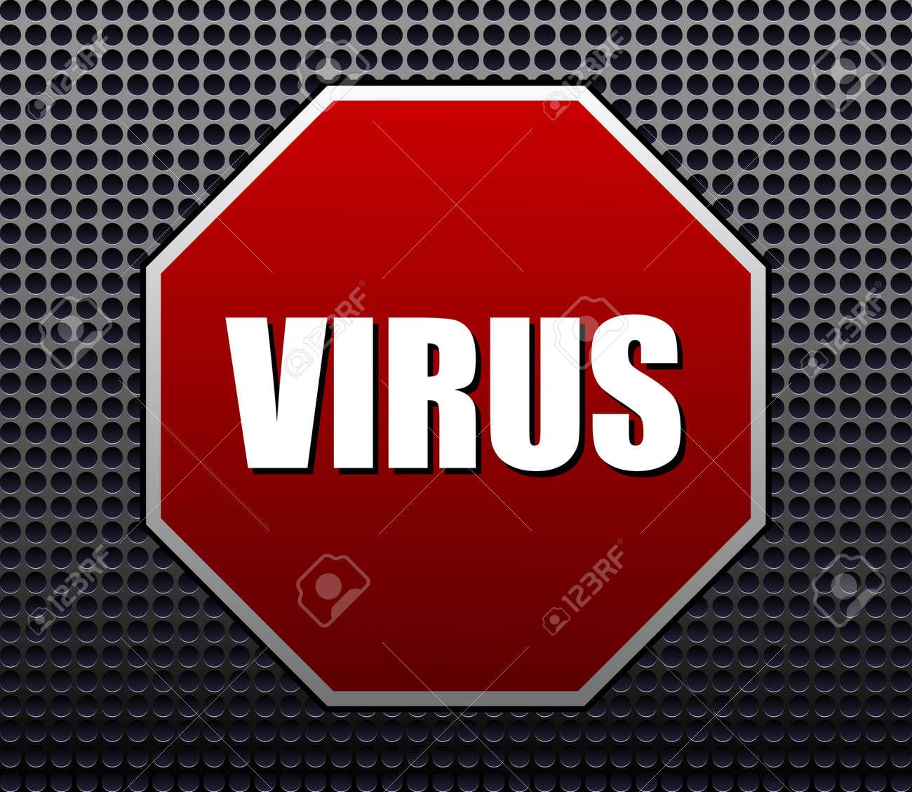 Cyber attacks vector sign Stock Vector - 17443702