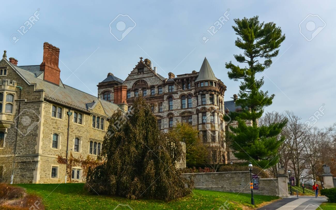 PRINCETON, NJ USA - NOVENBER 12, 2019: Ivy League College Building, Princeton University, NJ USA - 151527684