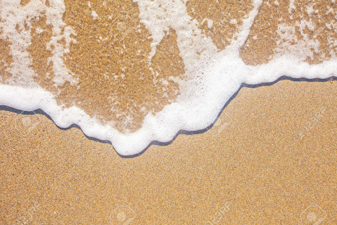 sand and wave background - 53548956