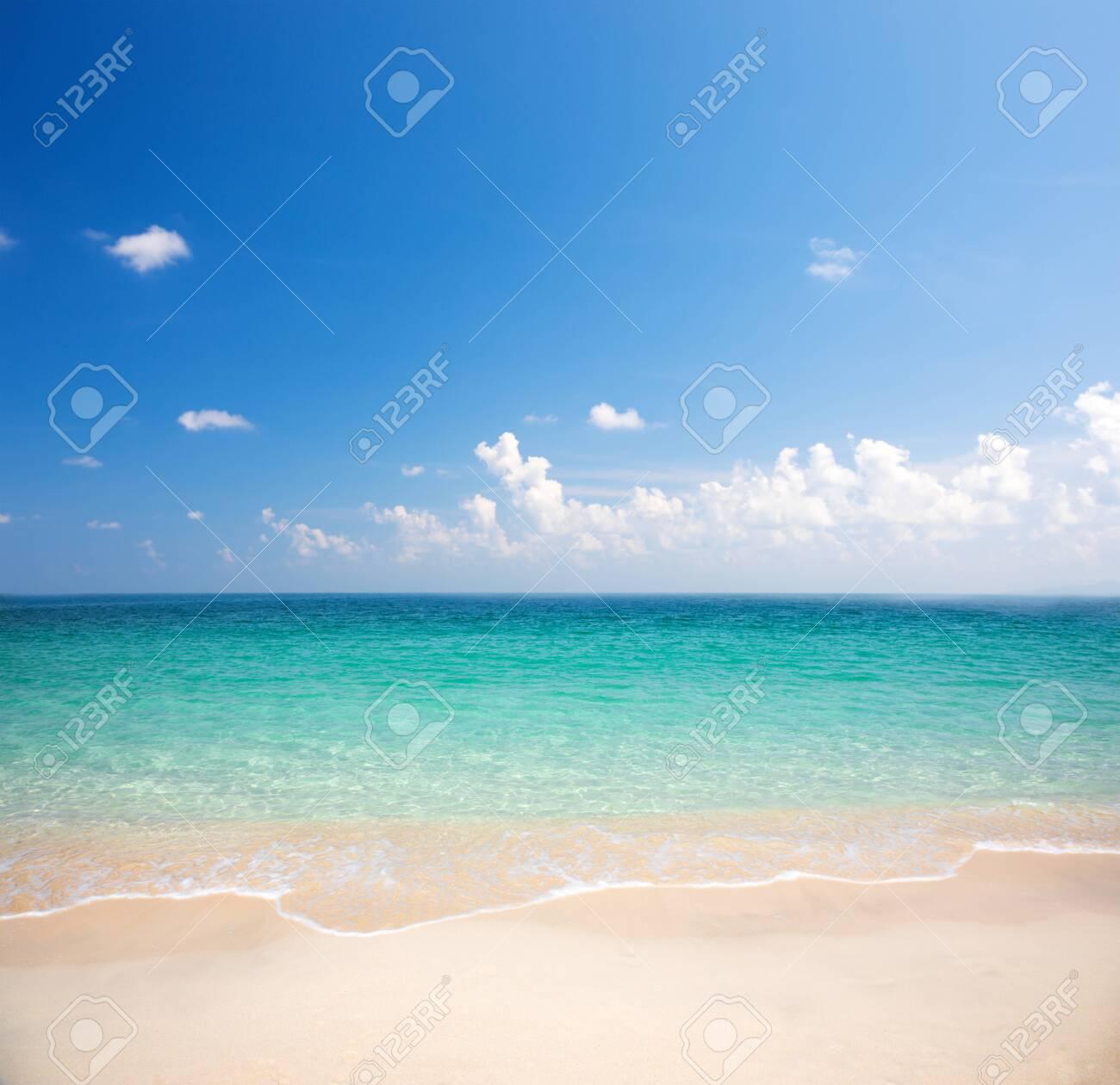 beautiful beach and tropical sea - 138731609