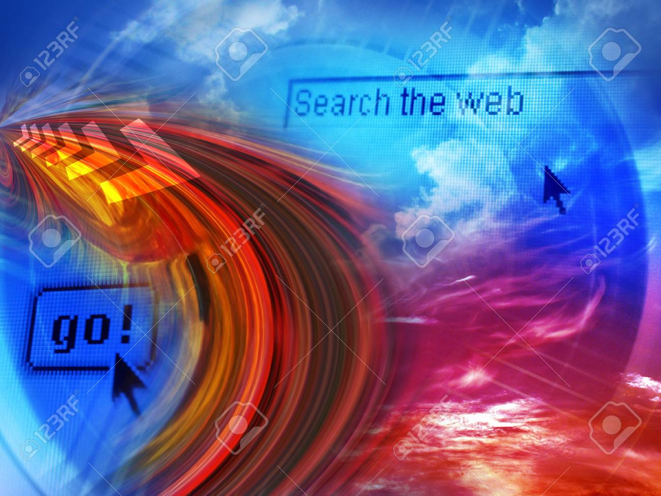 Search the Internet Stock Photo - 358260