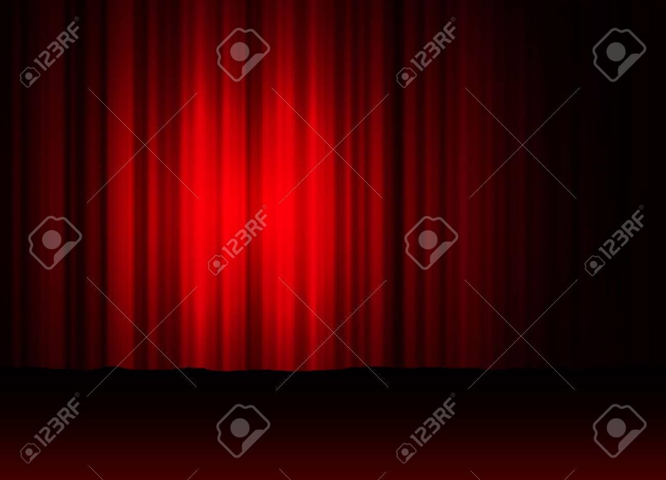 theatre curtain Stock Photo - 678916