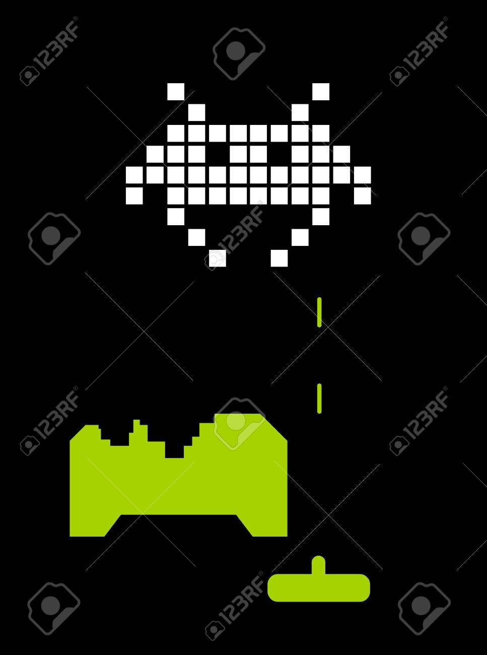 Space invaders Stock Photo - 719424