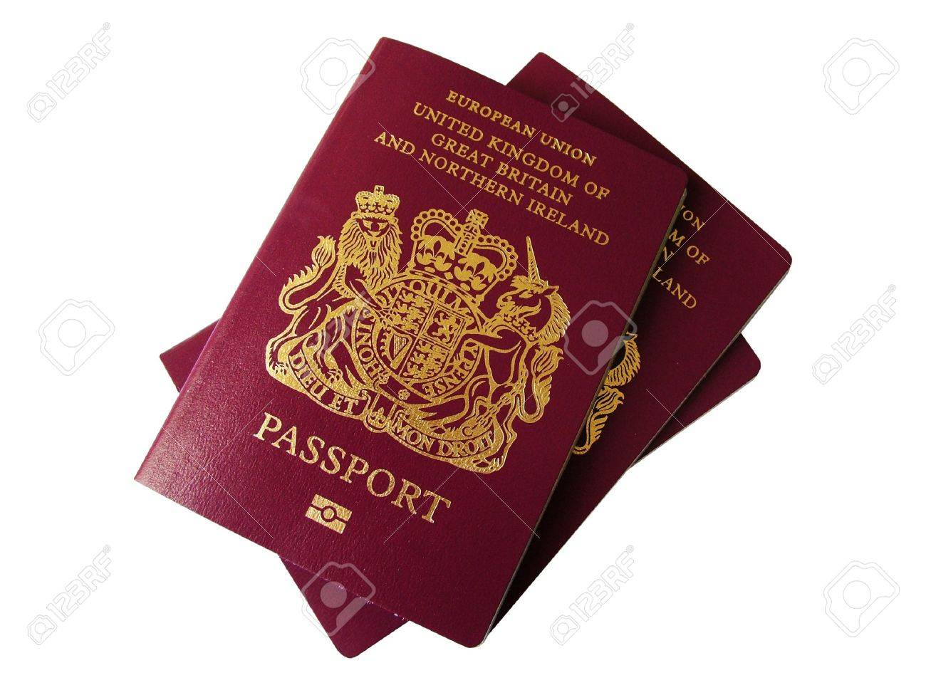 UK Passport Clip Art