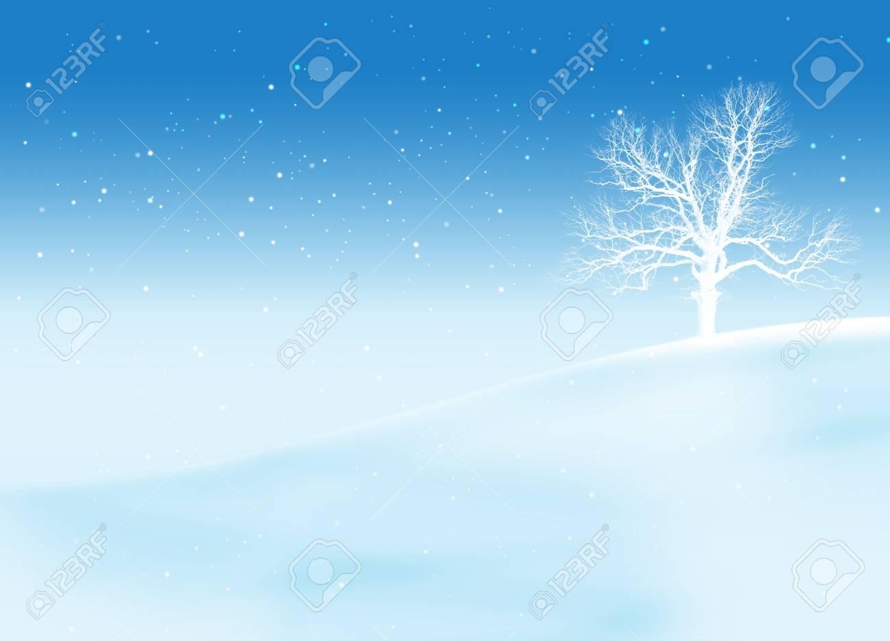 Tree in snow Stock Photo - 3826741
