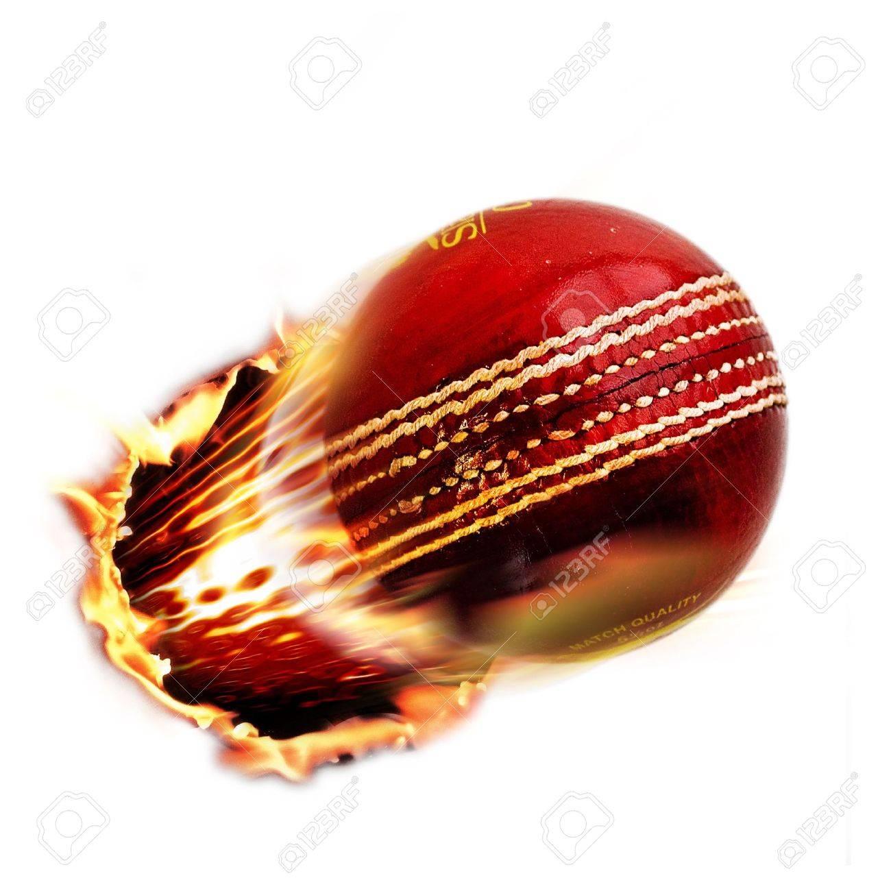 Cricket ball Stock Photo - 4362266