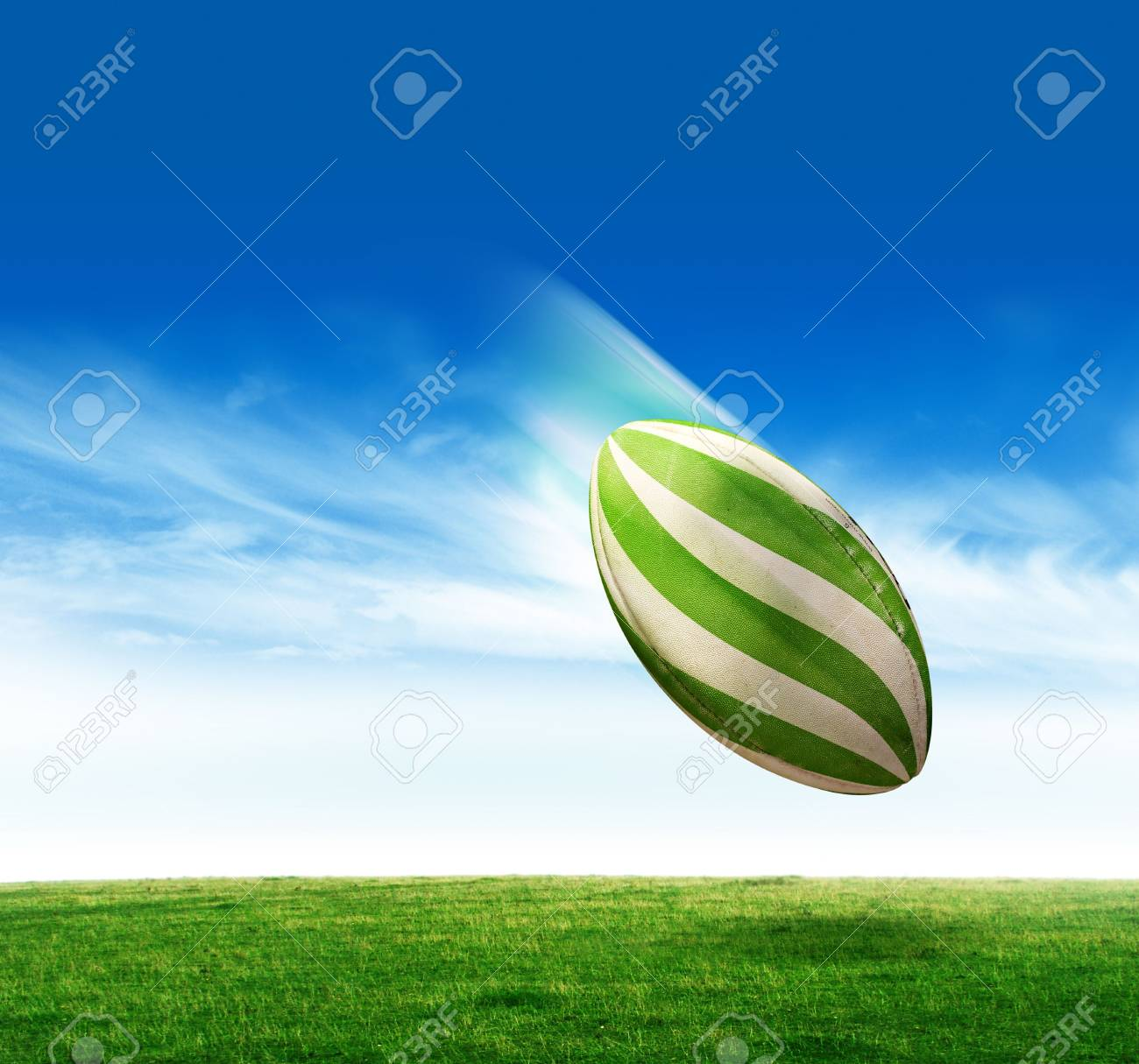 Rugby ball Stock Photo - 4405321