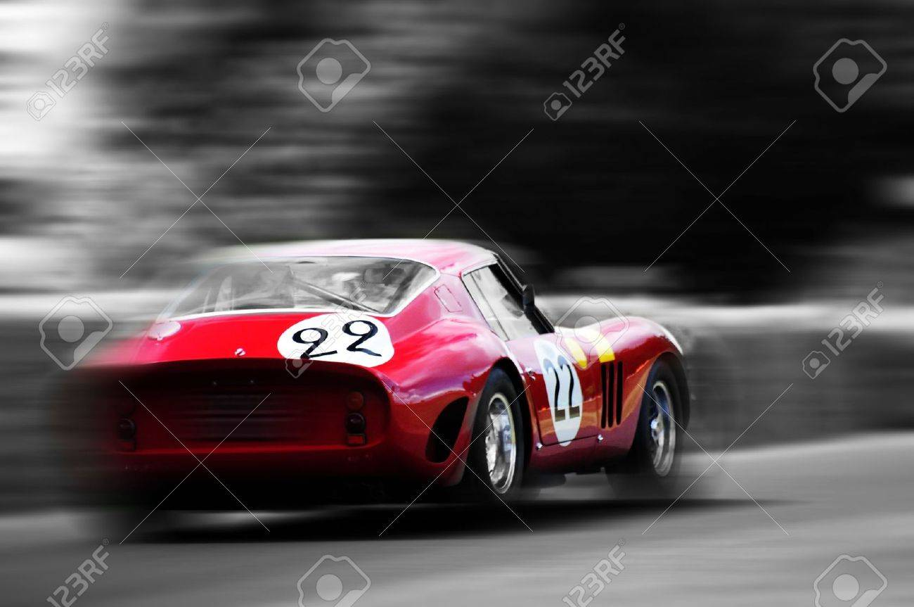 Vintage Racing Car Stock Photo Picture And Royalty Free Image