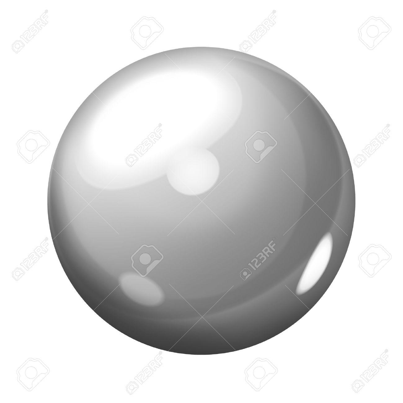 Gray sphere Stock Photo - 9166619