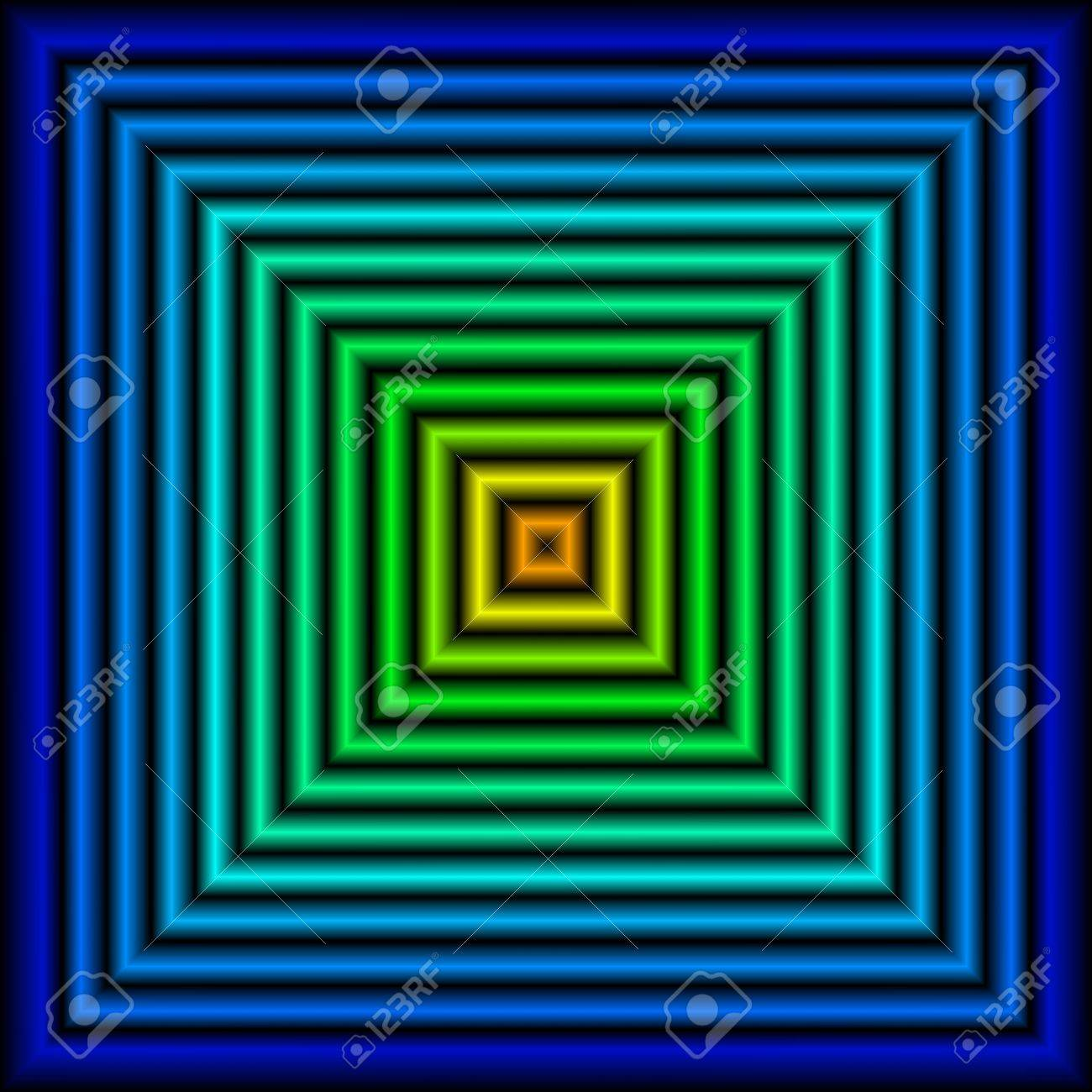Green blue squares Stock Photo - 9166673