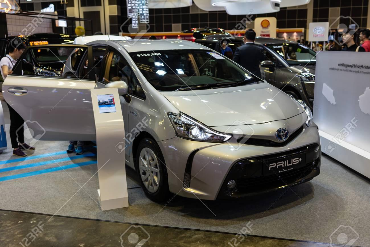 New Toyota Prius >> Singapore 12 January 2019 The New Toyota Prius Plus At Singapore