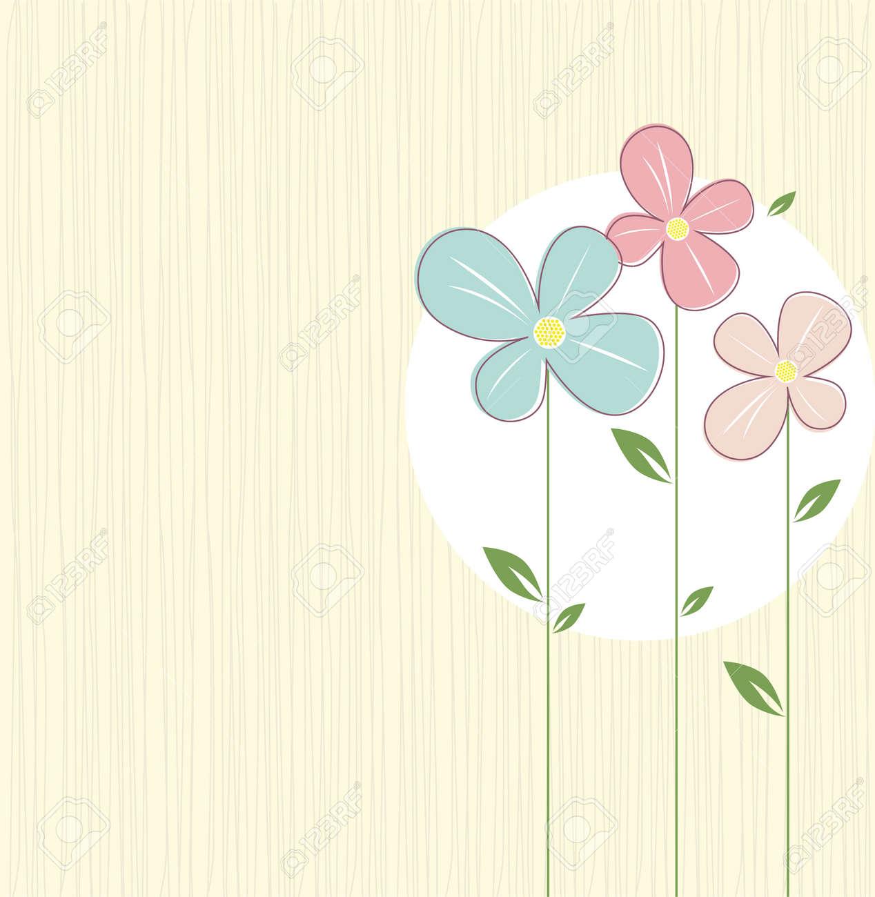 Spring Flowers Stock Vector - 8852861