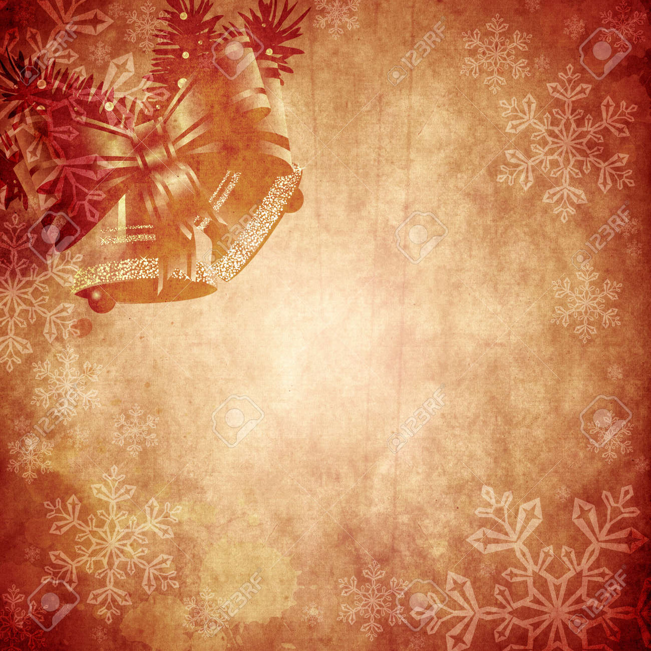 Vintage Christmas Background Design With Copy Space For Your ...