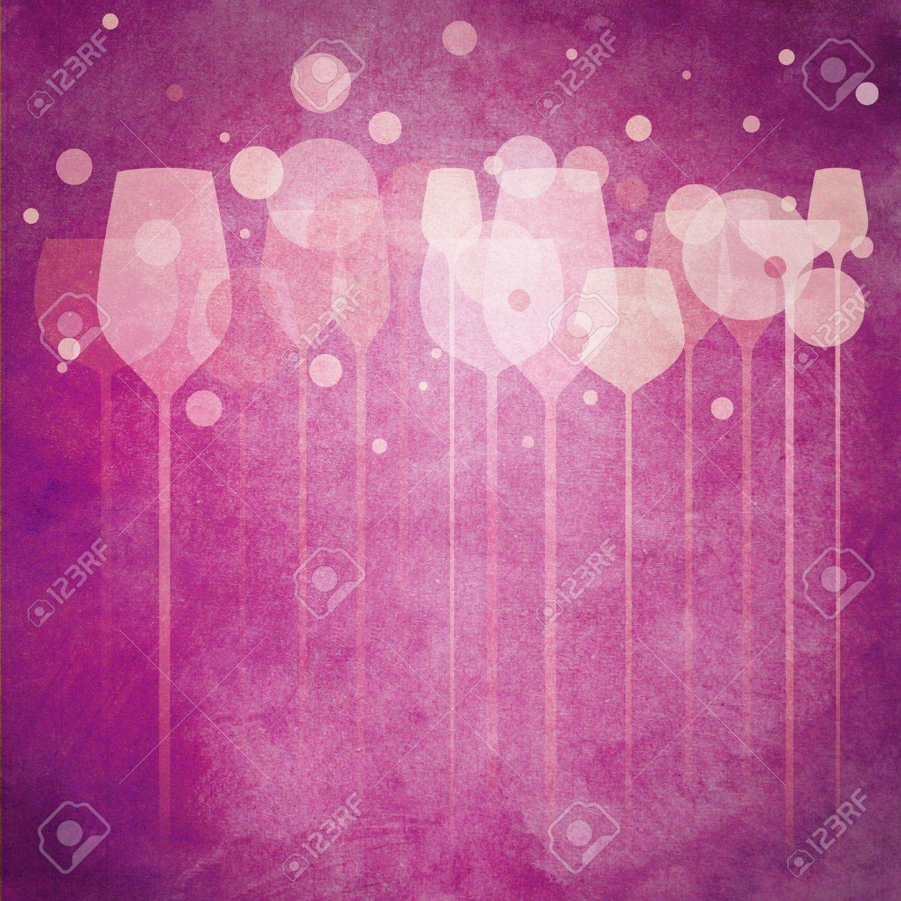 A funky illustration of various alcohol drink glasses, perfect for menu, poster and cover design etc. Stock Illustration - 13830223