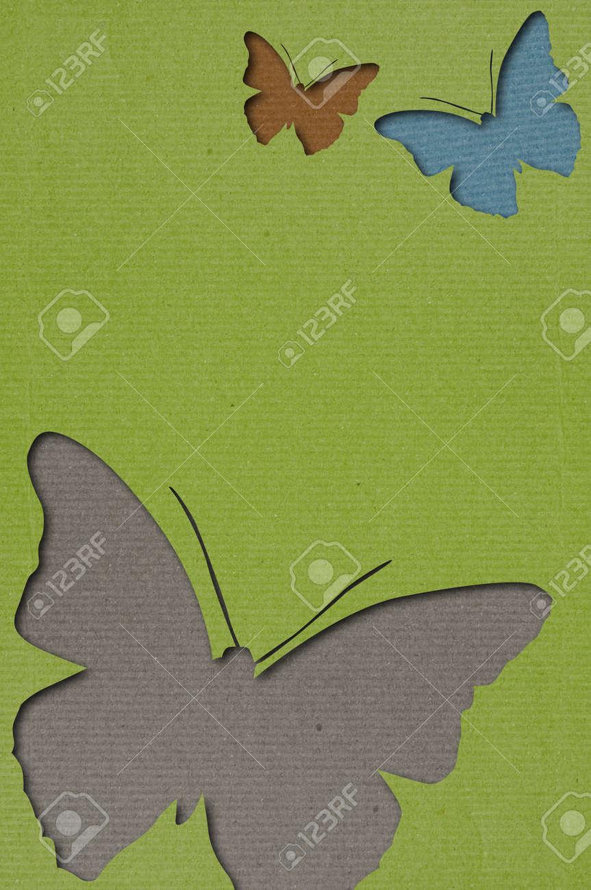 Butterflies Background Stock Photo - 16765958