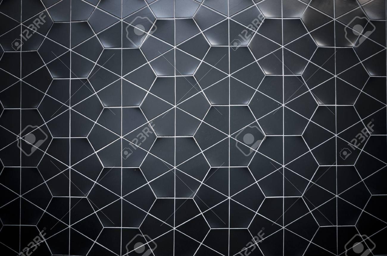 black wall texture with hexagon ceramic tiles stock photo black wall texture with hexagon