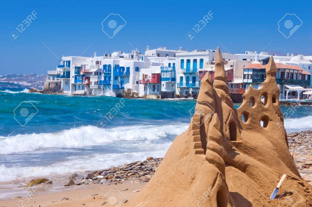 Mykonos Island, Greece Stock Photo - 27401787