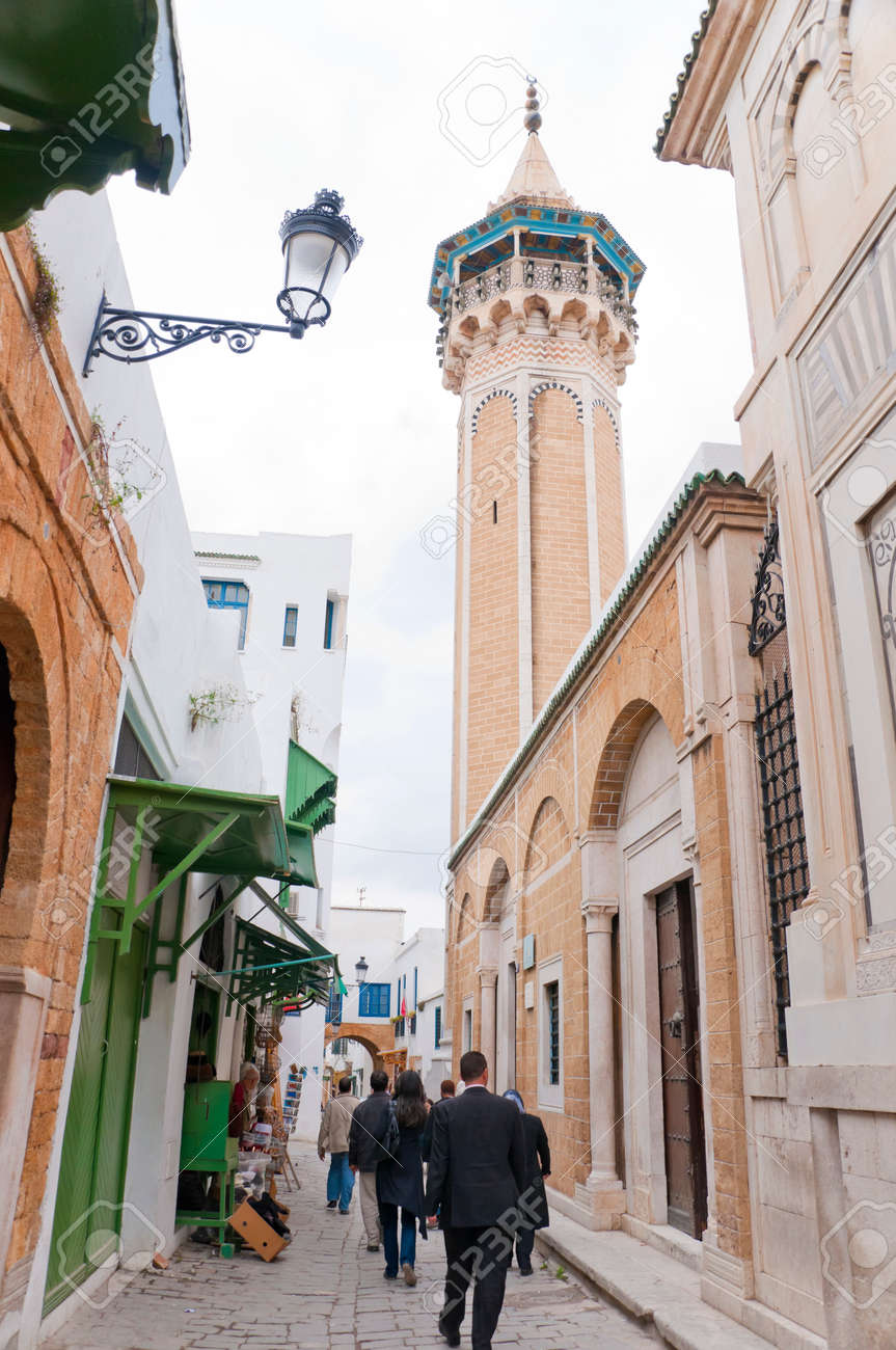 Zaytuna Mosque Tunis Tunisia Stock Photo Picture And Royalty Free Image Image 29501548