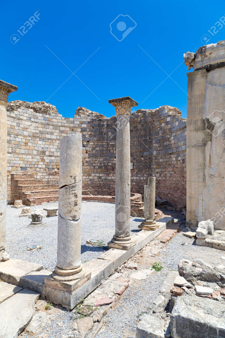 Ancient city of Ephesus, Turkey Stock Photo - 30422289