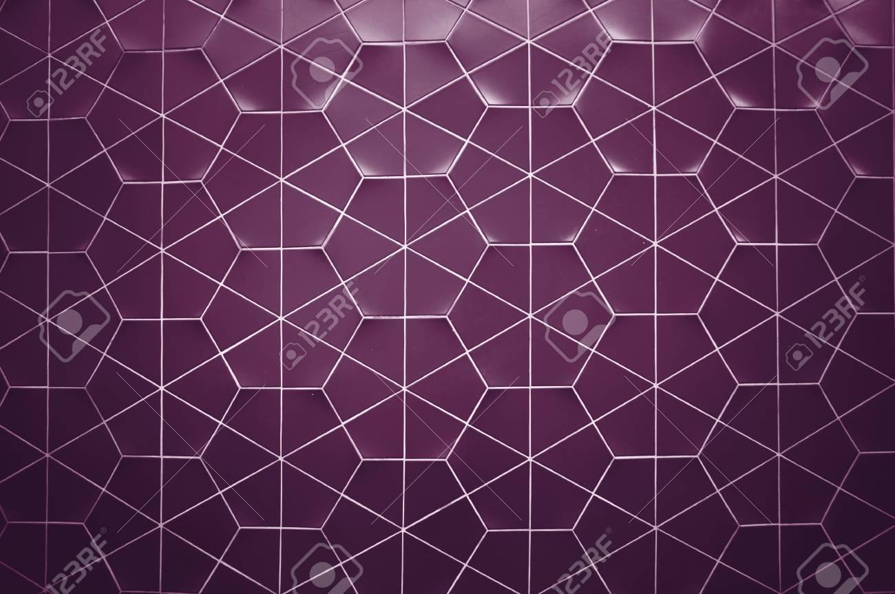 Esagonale piastrelle struttura della parete di fondo foto royalty