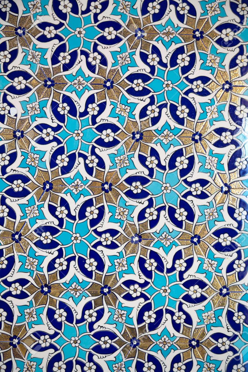 Iznik Fliesen Mit Traditionellen Turkischen Osmanischen Stil