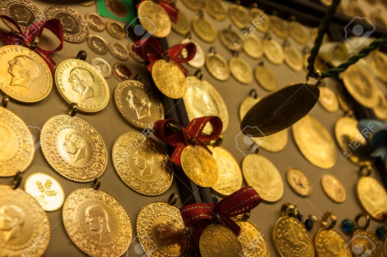Turkische Goldene Munzen Fur Individuelle Investitionen Und