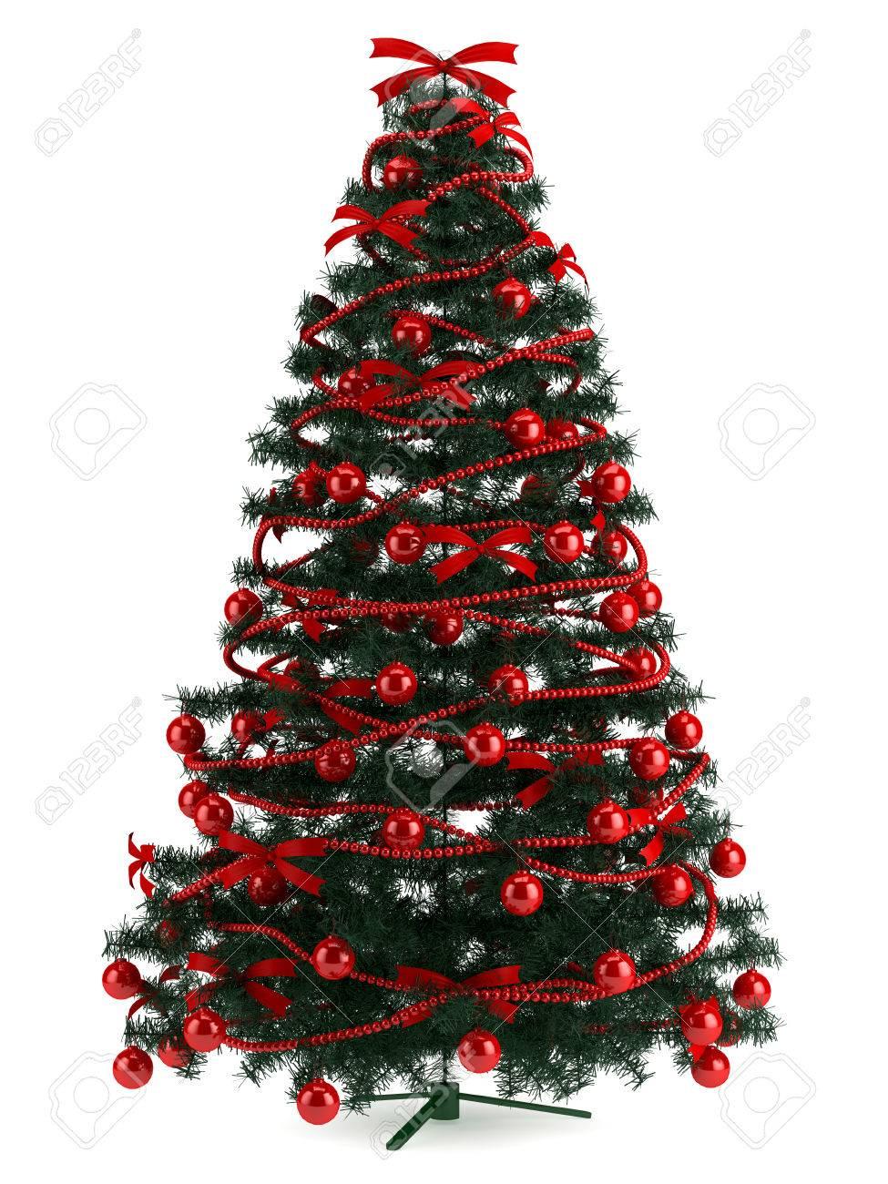 Der Weihnachtsbaum.Stock Photo