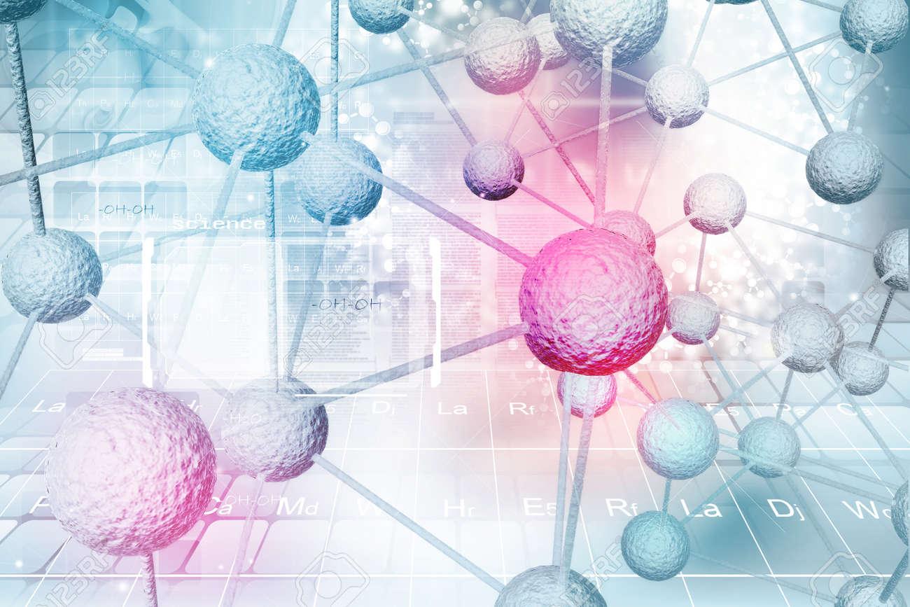 Molecule background - 52023798