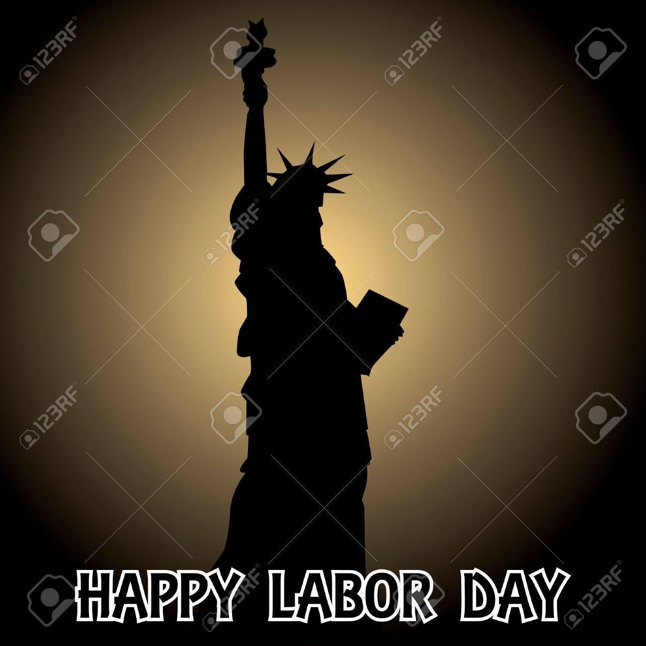 happy labor day - illustration Stock Vector - 12453317