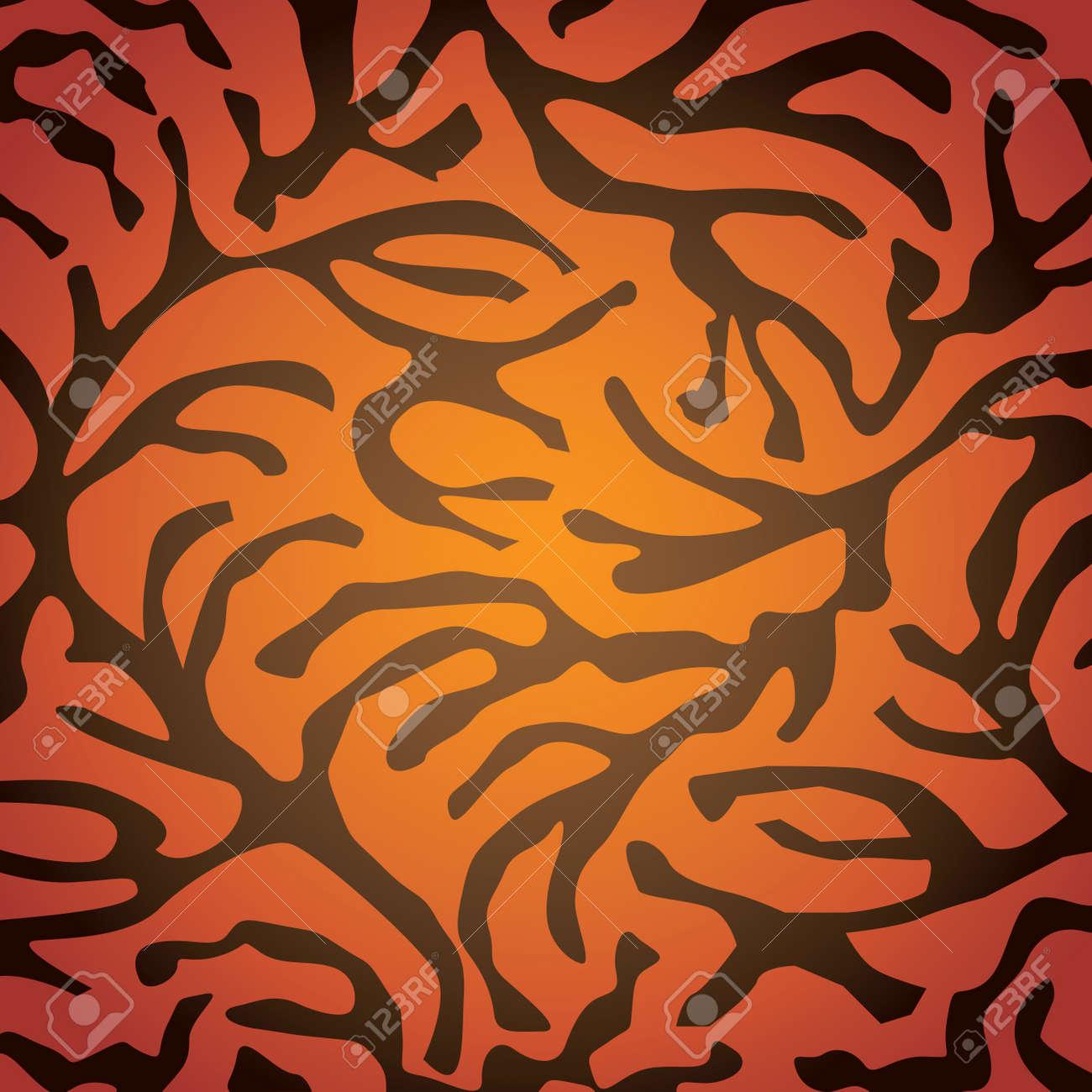 Carpet pattern illustration Stock Vector - 16261882
