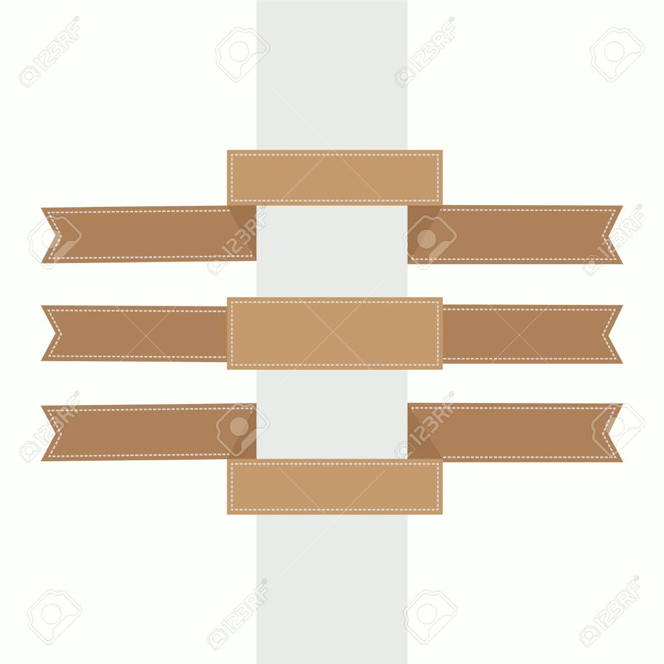 Set of vector ad ribbons - illustration Stock Vector - 18403071