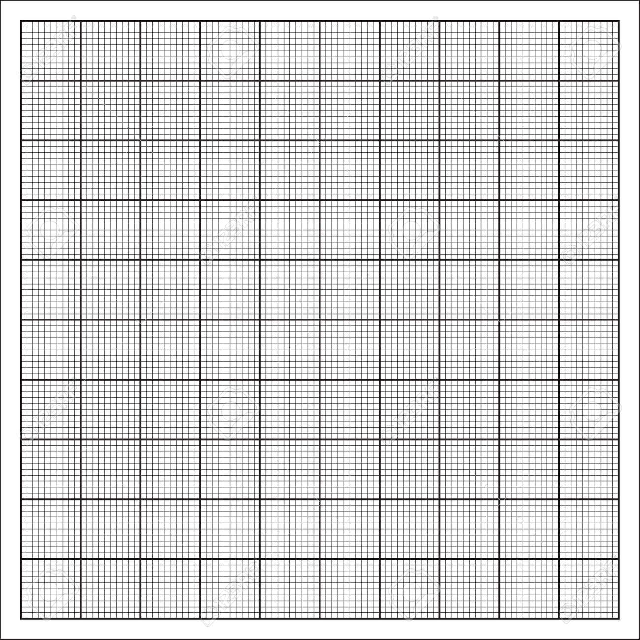 millimeter paper grid vector 100mm square pattern royalty free