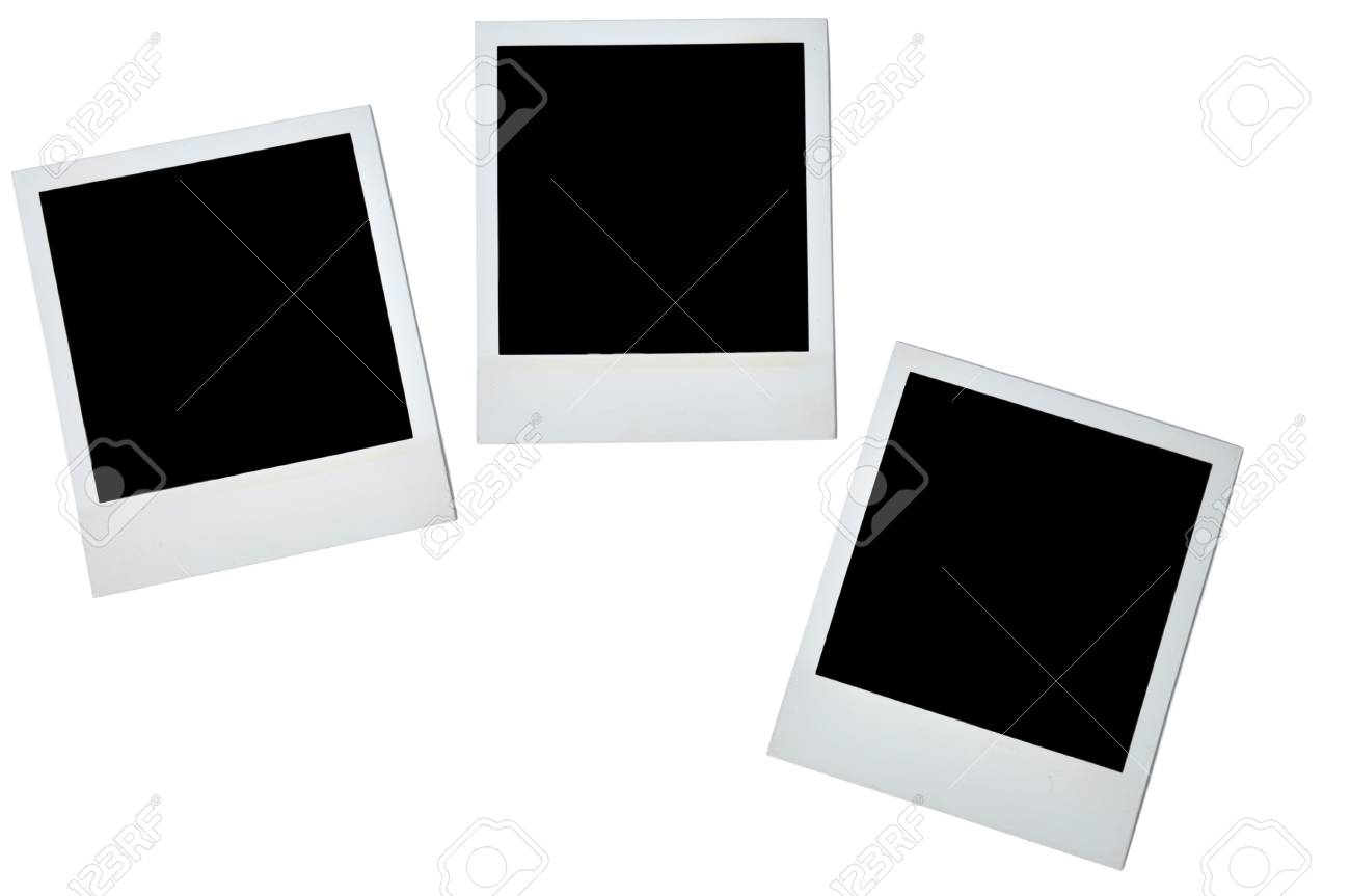 Blank photoframe over white Stock Photo - 7607584