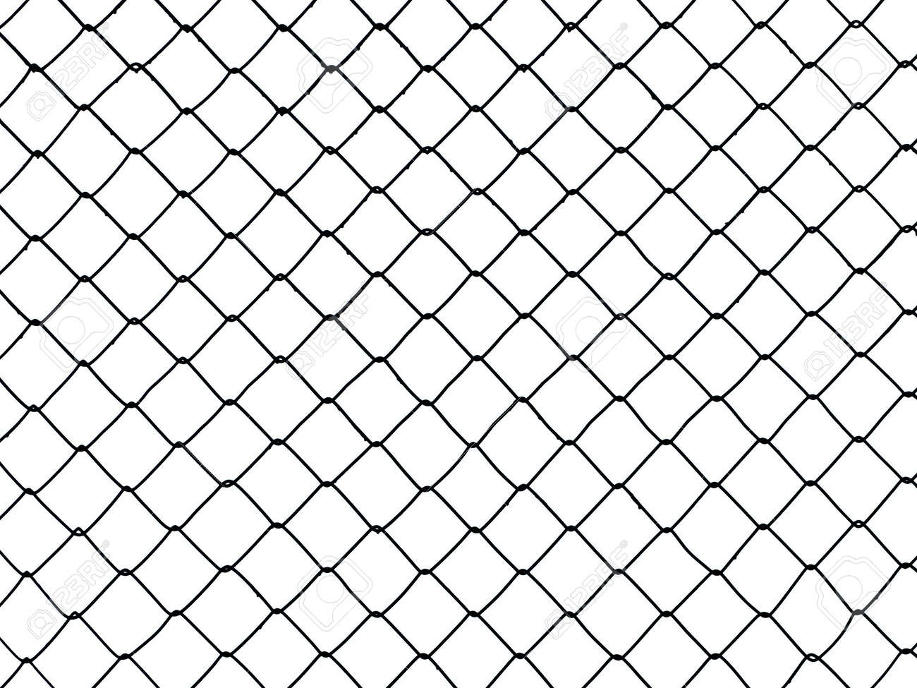 Metal Wire Fence Protection Chainlink Background Stock Photo ...