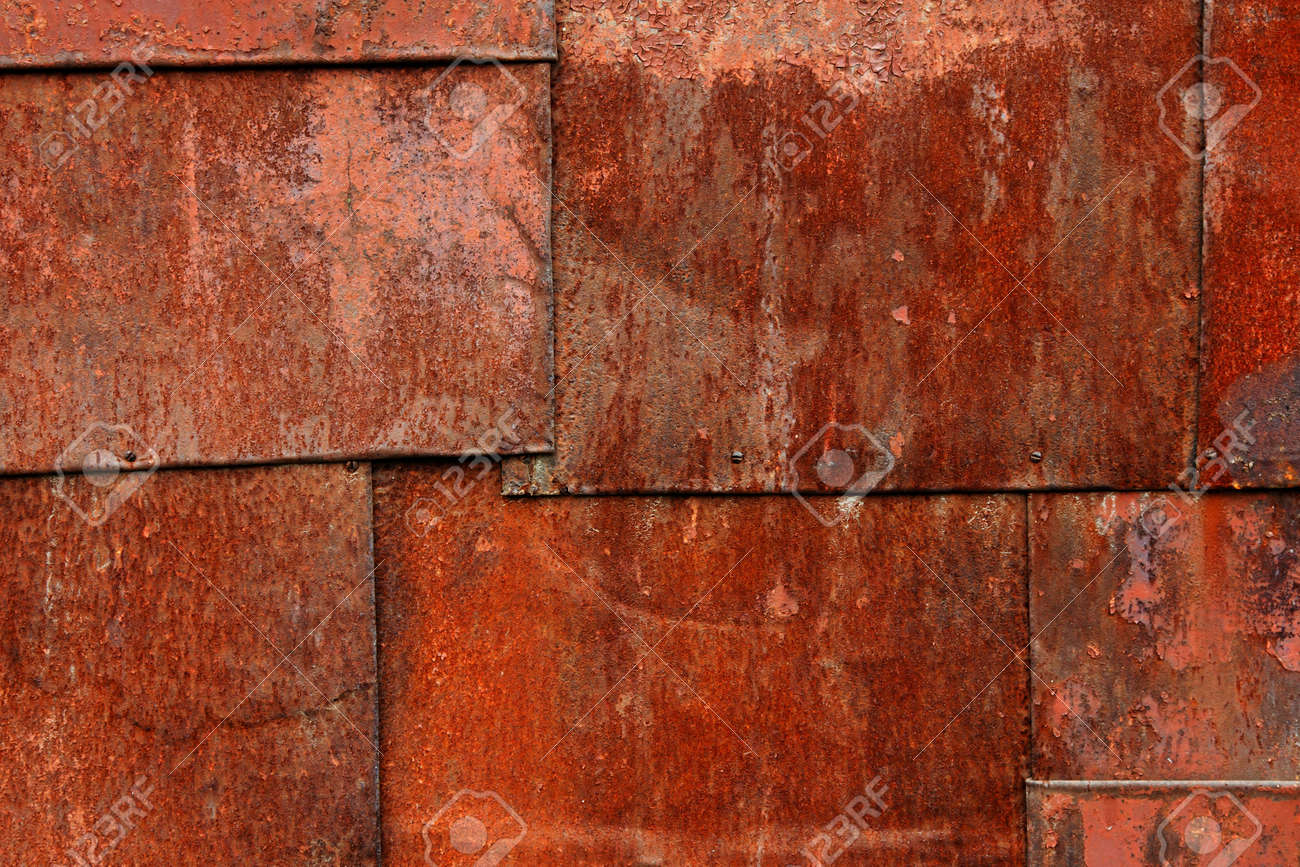 Old dirty rusty steel metal textured background Stock Photo - 7706761