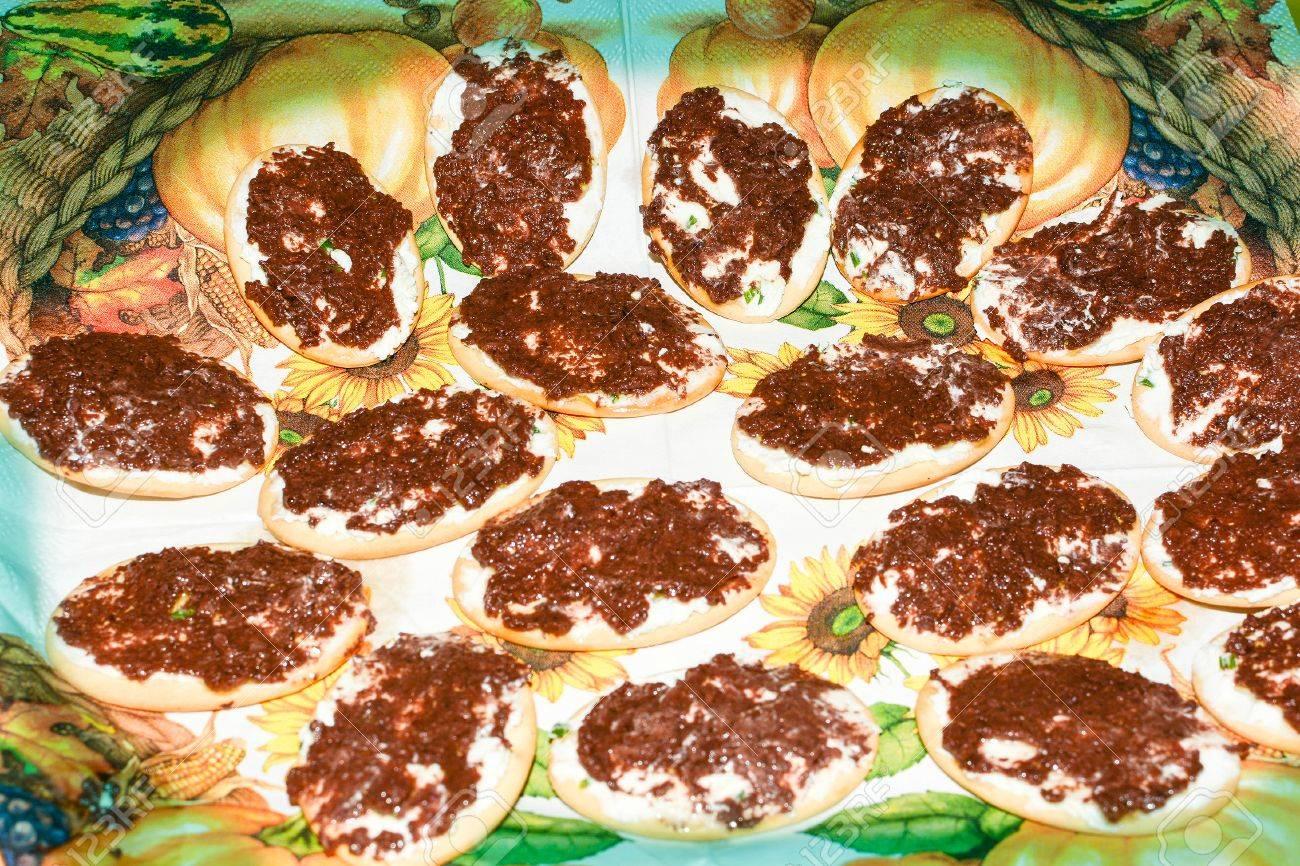 Fingerfood Original Italienischer Feine Küche Lizenzfreie Fotos ...