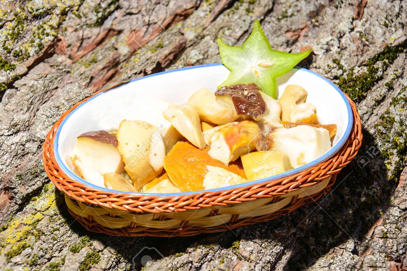 Fingerfood Original Italienischer Italienischen Küche Lizenzfreie ...